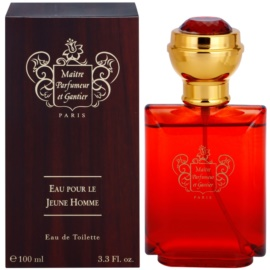 Maitre Parfumeur et Gantier Eau Pour le Jeune Homme Eau de Toilette for Men 100 ml