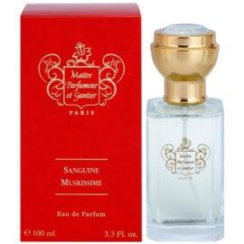 Maitre Parfumeur et Gantier Sanguine Muskissime Eau de Parfum unisex 100 ml
