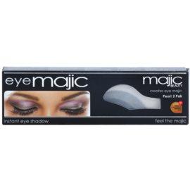 Majic Beauty Eye Majic Pearl instantní perleťové oční stíny odstín 01  2 x 2 ks