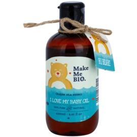 Make Me BIO Baby Care testápoló olaj gyermekeknek születéstől kezdődően  250 ml