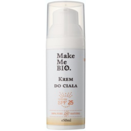 Make Me BIO Body Care Protective Body Cream SPF 25  50 ml