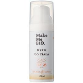 Make Me BIO Body Care crema de corp de protecție SPF 25  50 ml