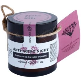 Make Me BIO Face Care Anti-aging krem na noc do skóry dojrzałej  60 ml
