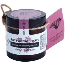 Make Me BIO Face Care Anti-aging creme de noite para pele madura  60 ml