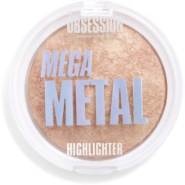 Makeup Obsession Mega Highlighter Shade Metal