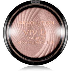 Makeup Revolution Vivid Baked poudre illuminatrice cuite teinte Peach Lights 7,5 g