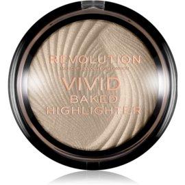 Makeup Revolution Vivid Baked poudre illuminatrice cuite teinte Golden Lights 7,5 g