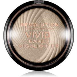 Makeup Revolution Vivid Baked pečeni posvetlitveni puder odtenek Golden Lights 7,5 g