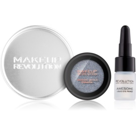 Makeup Revolution Awesome Metals Lidschatten Farbton Black Diamond 1,5 g