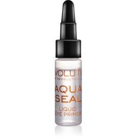Makeup Revolution Aqua Seal fiksator senčil in podlaga za senčila za oči 2v1  5,5 ml