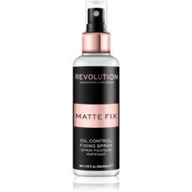 Makeup Revolution Pro Fix matirajoče pršilo za fiksiranje make-upa  100 ml