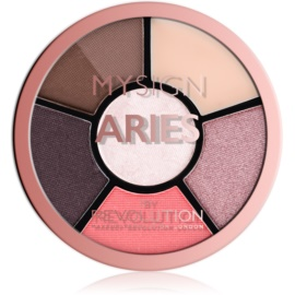 Makeup Revolution My Sign paletă pentru ochi culoare Aries 4,6 g
