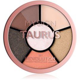 Makeup Revolution My Sign paletă pentru ochi culoare Taurus 4,6 g