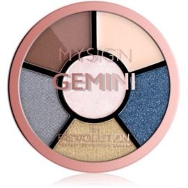 Makeup Revolution My Sign paletă pentru ochi culoare Gemini 4,6 g