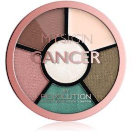 Makeup Revolution My Sign paletă pentru ochi culoare Cancer 4,6 g