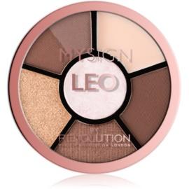 Makeup Revolution My Sign paletă pentru ochi culoare Leo 4,6 g