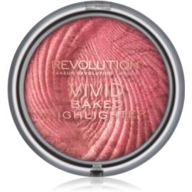 Makeup Revolution Vivid Baked pečeni posvetlitveni puder odtenek Rose Gold Lights 7,5 g
