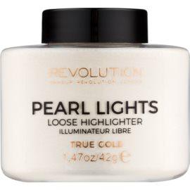 Makeup Revolution Pearl Lights brightener mare culoare True Gold 42 g