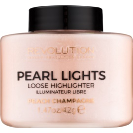 Makeup Revolution Pearl Lights brightener mare culoare Peach Champagne 42 g