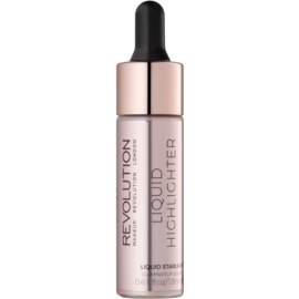 Makeup Revolution Liquid Highlighter iluminator lichid culoare Liquid Starlight 18 ml