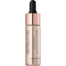 Makeup Revolution Liquid Highlighter iluminator lichid culoare Liquid Champagne 18 ml