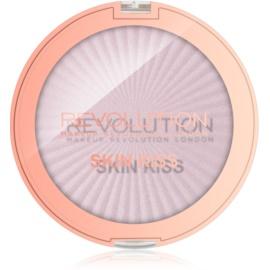Makeup Revolution Skin Kiss iluminator pentru față și zona ochilor culoare Pink Kiss 14 g
