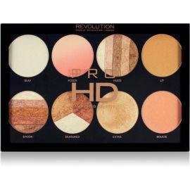 Makeup Revolution Pro HD Brighter Than My Future paleta luminoasa 8 x 4 g