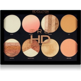 Makeup Revolution Pro HD Brighter Than My Future paleta de iluminadores 8 x 4 g