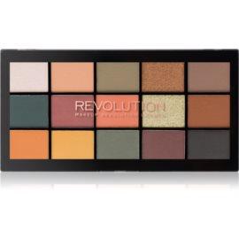 Makeup Revolution Reloaded paleta senčil za oči odtenek Iconic Division 15 x 1,1 g