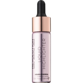 Makeup Revolution Liquid Highlighter iluminator lichid culoare Liquid Ethereal 18 ml
