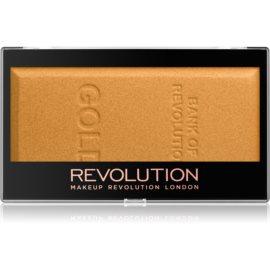 Makeup Revolution Ingot osvetljevalec odtenek Gold 12 g