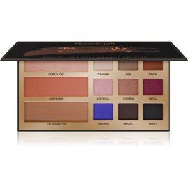 Makeup Revolution Maxineczka Beauty Legacy večnamenska paleta za obraz in oči  19,8 g