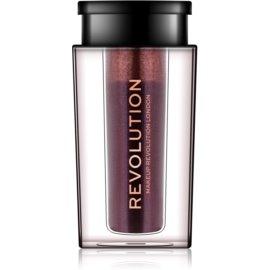Makeup Revolution Crushed Pearl Pigments visoko pigmentirana senčila za oči v prahu odtenek Savage 1,6 g
