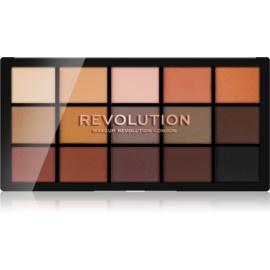Makeup Revolution Reloaded paleta senčil za oči odtenek Basic Mattes 15 x 1,1 g