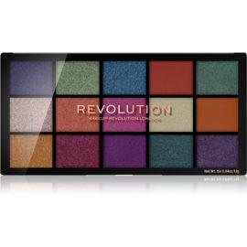 Makeup Revolution Reloaded paleta senčil za oči odtenek Passion for Colour 15 x 1,1 g