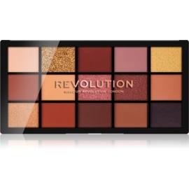 Makeup Revolution Reloaded paleta senčil za oči odtenek Velvet Rose 15 x 1,1 g