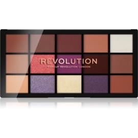 Makeup Revolution Reloaded paleta senčil za oči odtenek Visionary 15 x 1,1 g