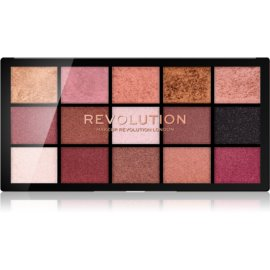 Makeup Revolution Reloaded paleta senčil za oči odtenek Affection 15 x 1,1 g