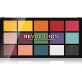 Makeup Revolution Reloaded paleta senčil za oči odtenek Marvellous Mattes 15 x 1,1 g