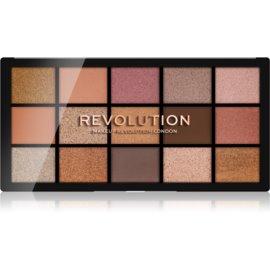Makeup Revolution Reloaded paleta senčil za oči odtenek Fundamental 15 x 1,1 g