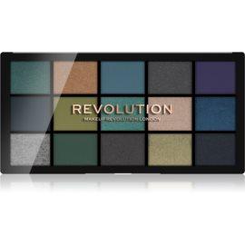 Makeup Revolution Reloaded paleta senčil za oči odtenek Deep Dive 15 x 1,1 g