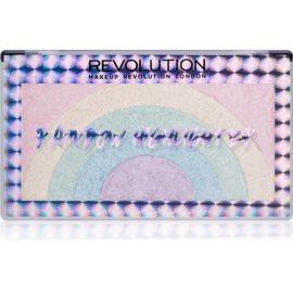 Makeup Revolution Rainbow rozjasňovač  10 g