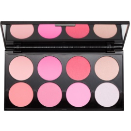 Makeup Revolution Ultra Blush All About Pink paleta rdečil  13 g