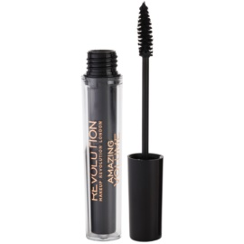 Makeup Revolution Amazing řasenka pro objem odstín Black 5,5 ml