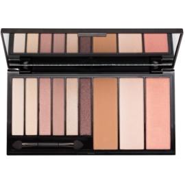 Makeup Revolution Euphoria Bare multifunkční paleta se zrcátkem a aplikátorem  18 g