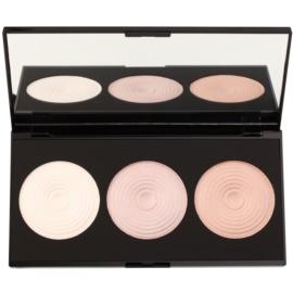 Makeup Revolution Beyond Radiance paleta de iluminadores con un espejo pequeño  15 g
