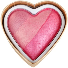 Makeup Revolution I ♥ Makeup Blushing Hearts компактні рум'яна відтінок Blushing Heart 10 гр