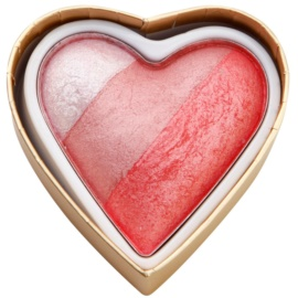 Makeup Revolution I ♥ Makeup Blushing Hearts lícenka odtieň Bursting With love 10 g
