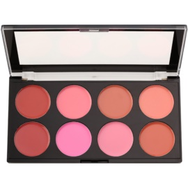 Makeup Revolution Blush paleta krémových tvářenek odstín Blush Melts 13 g