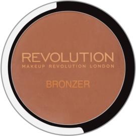 Makeup Revolution Bronzer bronzer z lusterkiem i aplikatorem odcień Bronzer Kiss 6,8 g